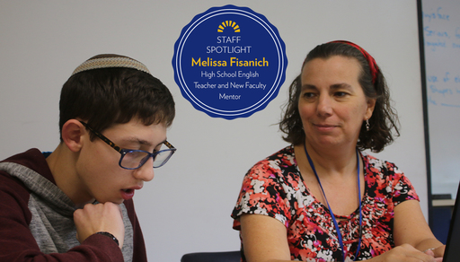 Melissa Fisanich, High School English Teacher and New Faculty Mentor