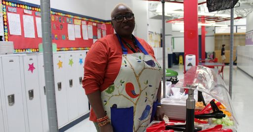 "Essivi ""Chantal"" Messan, Lower School Food Services Department Staff Member"
