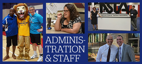 Meet CESJDS Administration and Staff