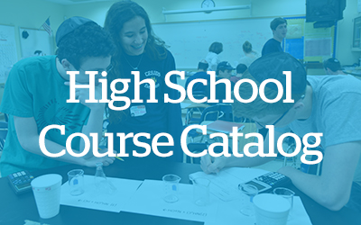CESJDS High School Course Catalog