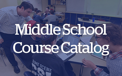 CESJDS Middle School Course Catalog