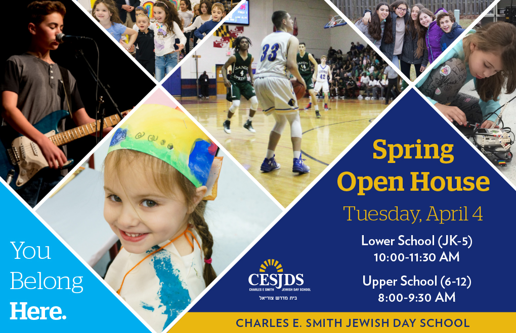 CESJDS Spring Open House - Tuesday, April 4