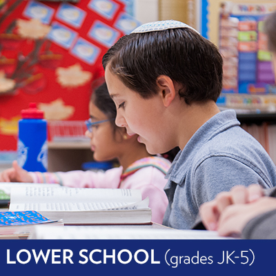Visit the Lower School (grades JK-5)