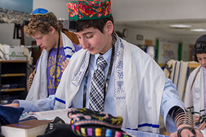 Upper School student at Zman Kodesh