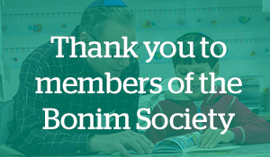 Thank you to members of the Bonim Society