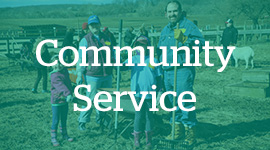 Learn more about community service at CESJDS