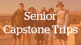 Learn more about the Irene and Daniel Simpkins Senior Capstone Israel Trip