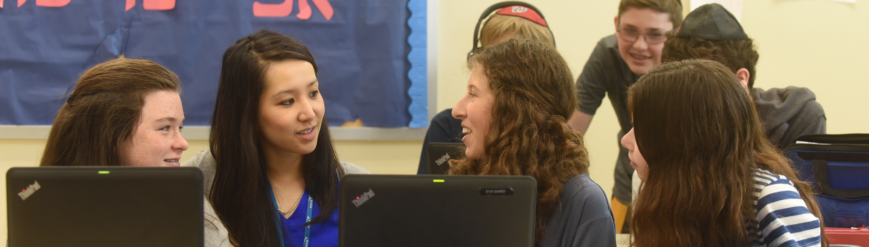 CESJDS Middle School features a challenging academic program in a supportive environment