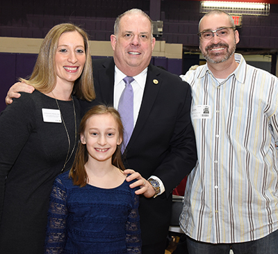 Meredith Weisel with Larry Hogan