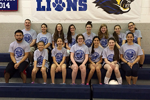 Lions Volleyball Camp
